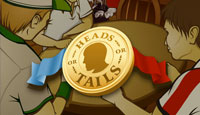 Heads or Tails Arcade Game