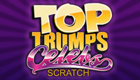 Top Trumps Celebs Scratch Card