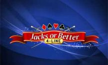 4 Line Jacks or Better Videopoker