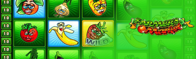 Farmers Market Slots | $/£/€400 Welcome Bonus | Casino.com