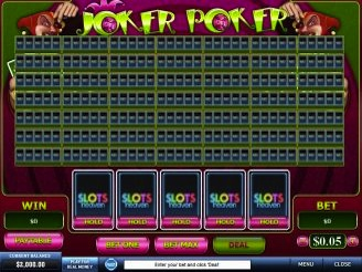 Play 50 Line Joker Poker Videopoker Online at Casino.com Australia