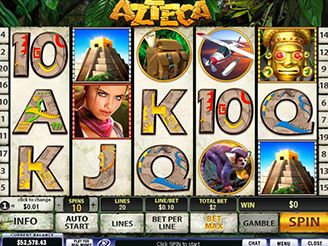 Play Azteca Online Slots at Casino.com UK