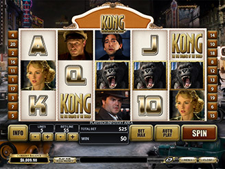 Play Kong: The Eighth Wonder of the World online slots at Casino.com