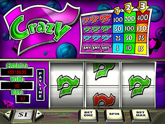 Crazy 7 Slots | $/£/€400 Welcome Bonus | Casino.com