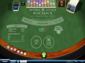 Play Double Attack Blackjack Online at Casino.com