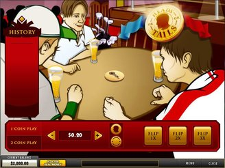 Play Heads or Tails Arcade Game Online