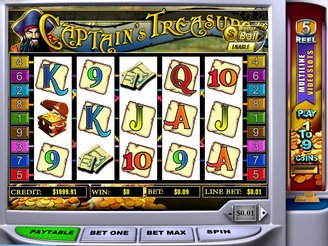 Captains Treasure Slots | $/£/€400 Welcome Bonus | Casino.com
